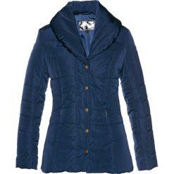 Kurtka pikowana bonprix ciemnoniebieski. Niebieskie kurtki damskie pikowane bonprix. Za 89,99 zł.