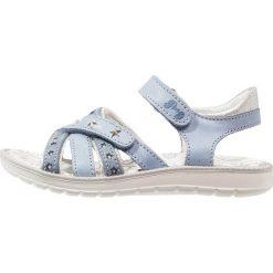 Primigi Sandały bluette/arg. Niebieskie sandały chłopięce Primigi, z materiału. Za 229,00 zł.