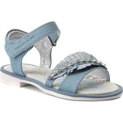 Sandały dziewczęce: Sandały NELLI BLU – CS17087-8 Niebieski
