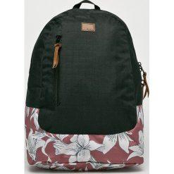Roxy - Plecak. Czarne plecaki damskie marki Roxy, z materiału. W wyprzedaży za 169,90 zł.