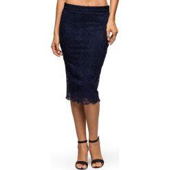 Spódniczki: Spódniczka koronkowa bonprix czarny