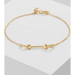 Biżuteria i zegarki damskie: Maria Black KNIGHT Bransoletka goldcoloured