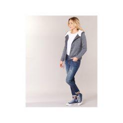 Bluzy Roxy  SALTY SEAS. Białe bluzy damskie marki Roxy, l, z nadrukiem, z materiału. Za 319,20 zł.