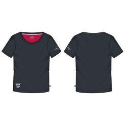 Bluzki asymetryczne: KILLTEC Koszulka damska Abelka czarna r. L (22132)
