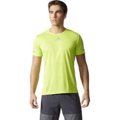 Adidas Koszulka męska SQ CC Run SS zielony r. XL. Zielone koszulki sportowe męskie Adidas, m. Za 53,64 zł.