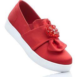 Buty wsuwane bonprix truskawkowy. Czerwone buty sportowe damskie marki KALENJI, z gumy. Za 79,99 zł.