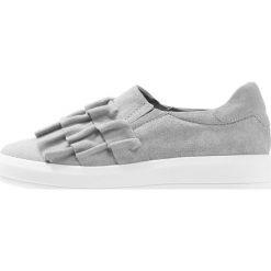 Creepersy damskie: Bianco RUFFLE  Półbuty wsuwane grey