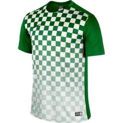 KOSZULKA NIKE PRECISION III (644626-302). Białe t-shirty męskie Nike, na lato, m, z materiału, z krótkim rękawem, do piłki nożnej. Za 69,99 zł.