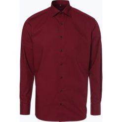 Koszule męskie na spinki: Eterna Modern Fit - Koszula męska niewymagająca prasowania, czerwony