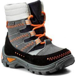 Buty zimowe chłopięce: Śniegowce BARTEK – 21579/98 Czarno Szary