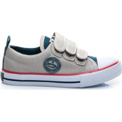 Buty dziecięce: TRAMPKI NA RZEP