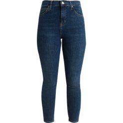 Boyfriendy damskie: Topshop Petite CAST JAMIE Jeans Skinny Fit blue denim