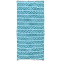 Chusta hammam w kolorze błękitnym - 180 x 100 cm. Czarne chusty damskie marki Hamamtowels, z bawełny. W wyprzedaży za 65,95 zł.