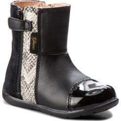 Buty dziecięce: Kozaki GEOX – B Kaytan G.C B6451C 02285 C0023 Black/Beige