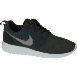 Buty sportowe męskie: Nike Buty męskie Roshe One Suede czarne r. 45 (685280-001)