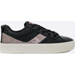 Napapijri - Buty Dahlia. Szare buty sportowe damskie Napapijri, z gumy. W wyprzedaży za 239,90 zł.