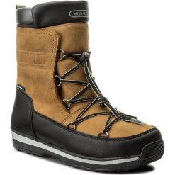 Botki męskie: Śniegowce MOON BOOT - Lem Leather Wp 14201100001 Marrone/Nerro