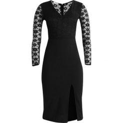 Sukienki hiszpanki: WAL G. SLEEVE DRESS Sukienka koktajlowa black