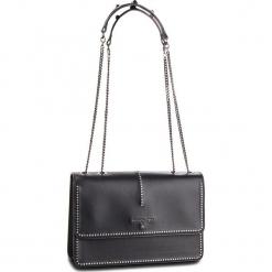 Torebka PATRIZIA PEPE - 2V8169/A2UX-F1TJ  Black/Shiny Crystal. Czarne torebki klasyczne damskie marki Patrizia Pepe, ze skóry. W wyprzedaży za 1109,00 zł.