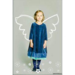 Sukienka bombka ze skrzydłami. Szare sukienki dziewczęce Pakamera, z bawełny, eleganckie. Za 148,00 zł.