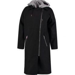 Płaszcze damskie pastelowe: Noisy May NMCOHIBA Płaszcz wełniany /Płaszcz klasyczny black/medium grey melange hood