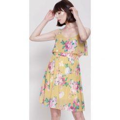 Sukienki: Żółta Sukienka One Day One Love