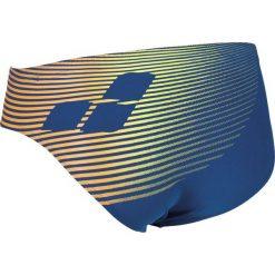 Kąpielówki męskie: Arena Kąpielówki M ESPIRAL BRIEF NAVY,TURQUOISE r. 4-80cm