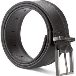 Pasek Męski CALVIN KLEIN - Arthur Belt K50K503408 85 001. Czarne paski męskie Calvin Klein, w paski, ze skóry. W wyprzedaży za 209,00 zł.