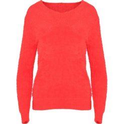Swetry klasyczne damskie: Czerwony Sweter Different At All