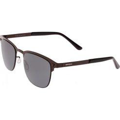 """Okulary przeciwsłoneczne męskie: Okulary męskie """"Archer"""" w kolorze brązowo-czarnym"""