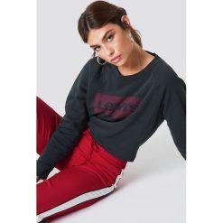 Levi's Luźna bluza Graphic Crew - Black. Czarne bluzy rozpinane damskie Levi's®, s, z bawełny. Za 242,95 zł.