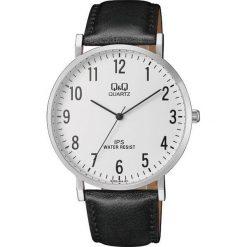 Zegarek Q&Q Męski QZ02-304 Klasyczny Slim czarny. Czarne zegarki męskie Q&Q. Za 88,20 zł.
