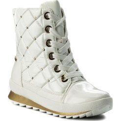 Śniegowce CAPRICE - 9-26204-29 White Comb 197. Białe buty zimowe damskie Caprice, ze skóry ekologicznej. W wyprzedaży za 269,00 zł.