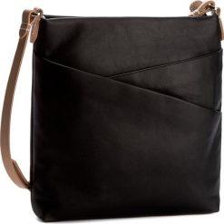 Torebka CLARKS - Tottington Duo 261254360 Black Leather. Czarne listonoszki damskie marki Clarks. W wyprzedaży za 219,00 zł.