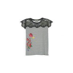 T-shirty z krótkim rękawem Desigual  GRIZELLU. Czarne t-shirty damskie marki Desigual, l. Za 200,85 zł.