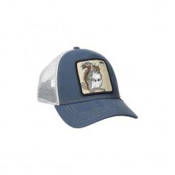 Czapki z daszkiem Goorin  GORRA Bros. Nuts - Squirrel - Ardilla. Niebieskie czapki męskie Goorin. Za 155,23 zł.