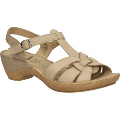 SANDAŁY CAPRICE 9-28355-24. Brązowe sandały damskie Caprice. Za 139,99 zł.
