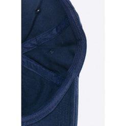 Pepe Jeans - Czapka. Szare czapki z daszkiem męskie Pepe Jeans, z bawełny. W wyprzedaży za 89,90 zł.
