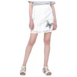 Desigual Spódnica Damska Cullera 44 Biały. Białe spódniczki Desigual. W wyprzedaży za 209,00 zł.