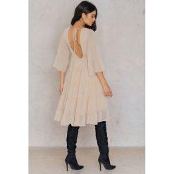 Sukienki hiszpanki: Endless Rose Zwiewna sukienka - Nude