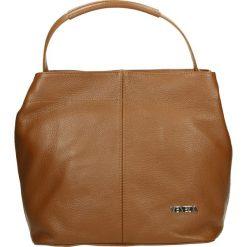 Torba - 67-2-O D CUOI. Szare torebki klasyczne damskie Venezia, w paski, ze skóry. Za 239,00 zł.