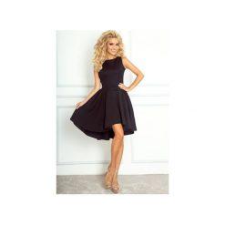 Sukienki asymetryczne: SUKIENKA ASYMETRYCZNA CZARNA