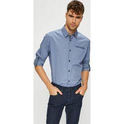 Jack & Jones - Koszula. Czarne koszule męskie marki Jack & Jones, l, z bawełny, z klasycznym kołnierzykiem, z długim rękawem. Za 169,90 zł.