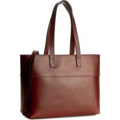 Torebka CREOLE - K10330  Brązowy. Brązowe torebki klasyczne damskie Creole, ze skóry. W wyprzedaży za 229,00 zł.