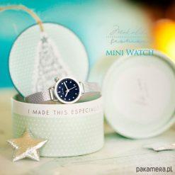 Idealny Prezent - mini Zegarek - Makaliboo. Szare zegarki damskie Pakamera, szklane. Za 89,00 zł.