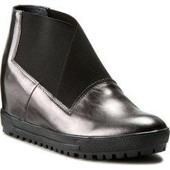 Sneakersy SERGIO BARDI - Gilda FW1269317AF 110. Szare sneakersy damskie Sergio Bardi, z gumy. W wyprzedaży za 219,00 zł.