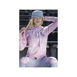 Bluzy damskie: Bluza Palms and Flamingo- Róż