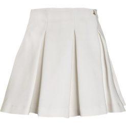 Patrizia Pepe SKIRT Spódnica plisowana milk white. Białe spódniczki dziewczęce Patrizia Pepe, z bawełny. W wyprzedaży za 443,40 zł.