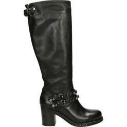 Kozaki - 1402Y3M GA NE. Czarne buty zimowe damskie marki Venezia, ze skóry. Za 799,00 zł.