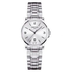PROMOCJA ZEGAREK CERTINA DS CAIMANO LADY. Białe zegarki damskie CERTINA, ze stali. W wyprzedaży za 1034,00 zł.